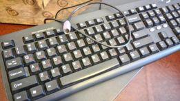Продам компьютерную клавиатуру+мышь в Луганске
