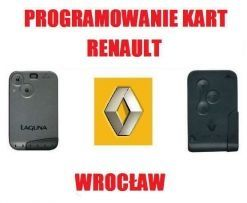Kodowanie Dorabianie Programowanie kart Renault Laguna Megane Scenic