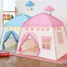 Princess and Prince Play Tents