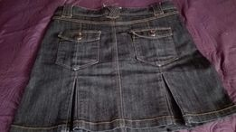 Spodnica damska dżinsowa