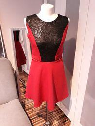 Malinowo - czarna sukienka w rozmiarze S
