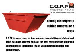Need some rubble removed?