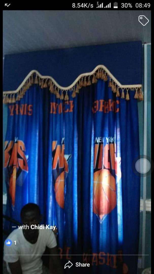 Boys Room Curtains with board, inner voile, tie bags. All to match. 0