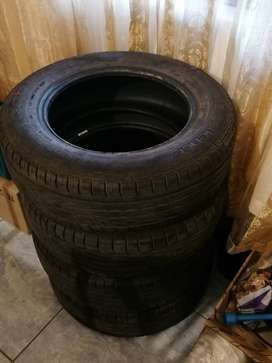 Goodyear Excellence Tyres: Size 196/65R15 One week old