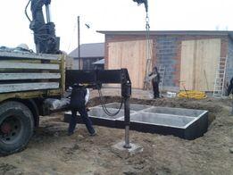 Płyta obornikowa szambo na gnojowice atest montaż transport koparka
