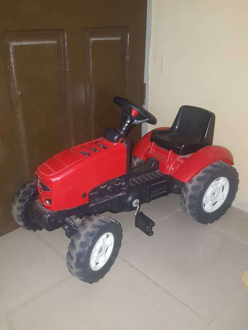Chad Valley Tractor - Used Toy 0