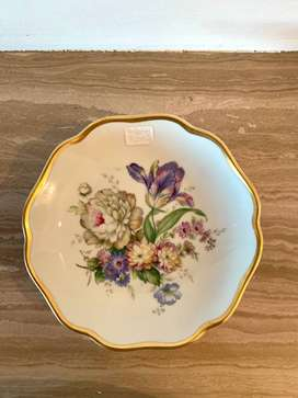Rosenthal Germany Floral Compote