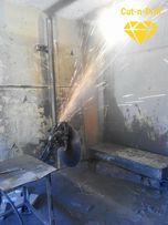 Алмазная резка бетона железобетон кирпиче дверной проём