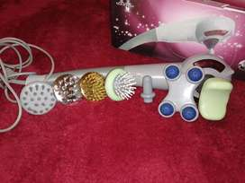 A massager with 7 accessories