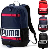 Рюкзак Puma Deck Navy Red 24l Оригинал городской Синий Красный цвет