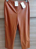 Nowe Skórzane Spodnie Rozm. 42