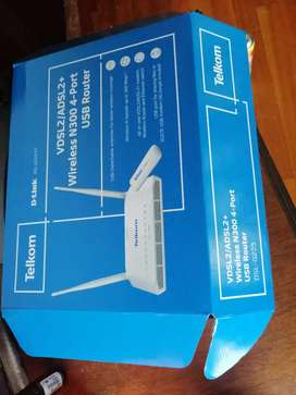 Telkom Fibre router and wifi and phone bundle