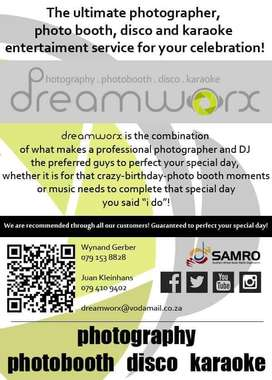 DJ & PHOTO BOOTH Services For Any Function - Weddings, Corporate Event