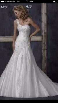 Image of Maggie Sottero Designer imported wedding gown for sale