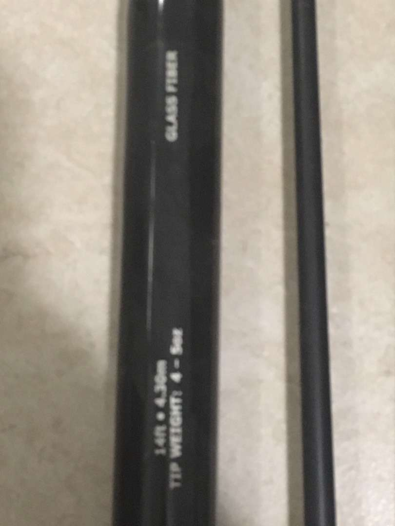Adrenalin 14ft fishing rod for sale 0