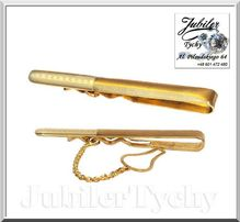 Złota spinka do krawata Złoto 585 wg 4,500 złote spinki Jubiler Tychy