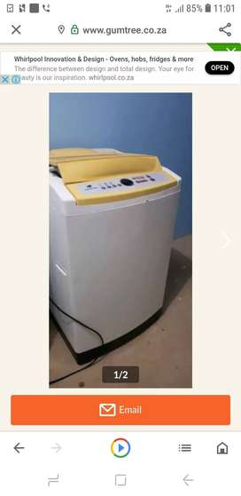 13kg Samsung washing machine 1800