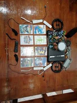 Wii console + Games