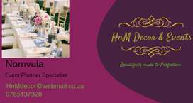 HnM Decor & Events