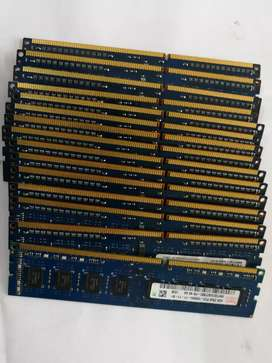 4gb DDR3 Desktop RAM available