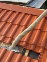 Ocieplenie granulatem wełny stropodachu, poddasza, dachu, Ekofiber