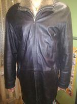 кожаный плащ, куртка, пуховик, ветровка мужской кожа фурнитура