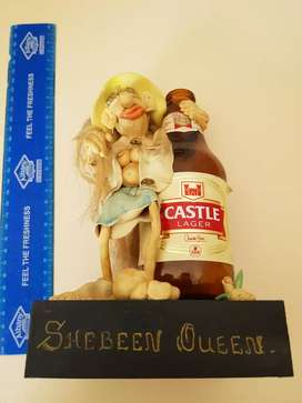 Ornament.Very funny. Castle shebeen queen