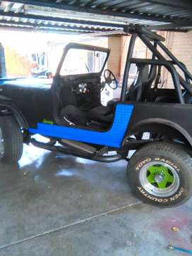 Willys Jeep CJ 7 4x4 with Ford V6 Motor and 5Spd Cressida Gearbox