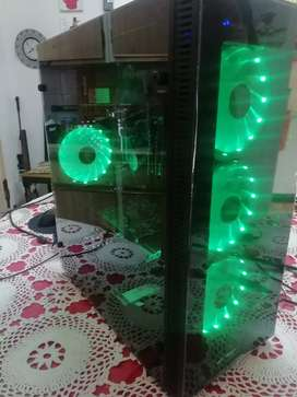 i7 gaming pc with rgb case