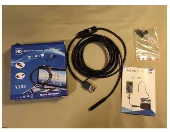 New! Endoscope Inspection Camera for Android Phones and PCs 0