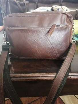 Genuine leather bag for sale