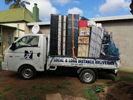 Furniture Removals, Truck Hire, Truck Rentals local and long distance