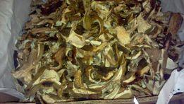 Білі сушені гриби з Карпат