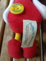 Button Moon vintage retro toys 1980 rok Tina zabawka maskotka