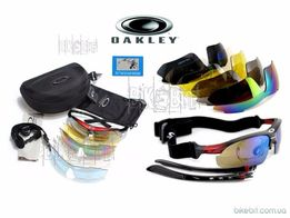 ПОДАРОК Тактические армейские очки OAKLEY Polarized 5 линз военные