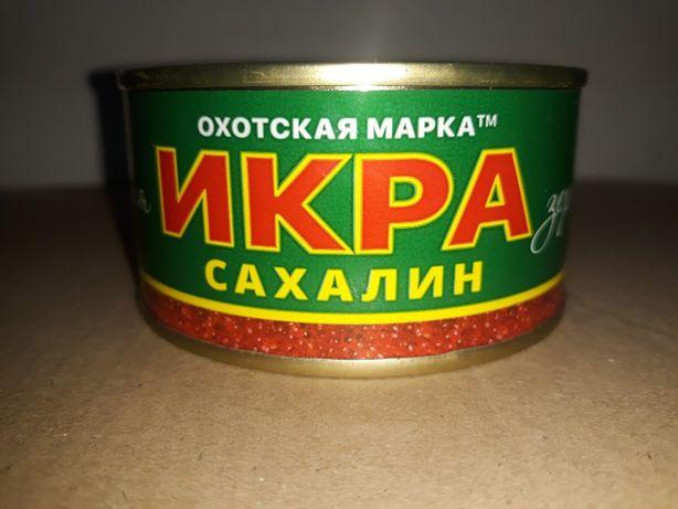 Икра красная (ікра червона) ТМ Охотская марка