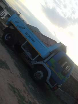 Man tipper truck for sale with the 366 Mercedes engine with turbo