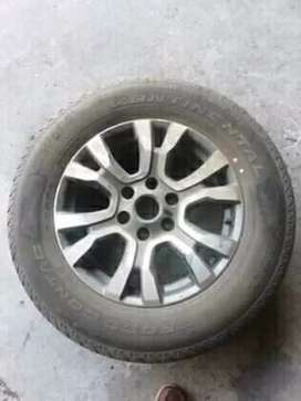 18 inch ford ranger rim and brand new tyre for spare