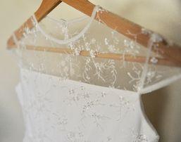 Sukienka koronkowa, rozm. 146
