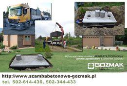 Nowy Dwór Mazow. Szamba betonowe 10m3 od producenta + transport/montaż