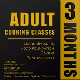 A new cooking skill for adults