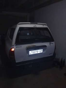 Bakkie with a driver to hire Hloni transport