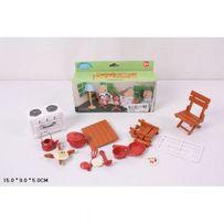 Мебель для кукольных домиков Sylvanian санузел happy family домик для