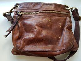 Женская кожаная сумка Fossil