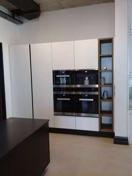 we specialise with kitchen units and wardrobes