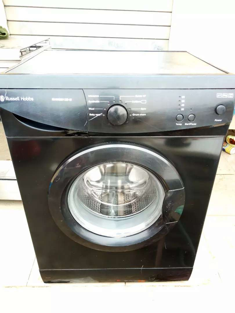 Russell Hobbs 6kg washing/spining machine, 3months used 0