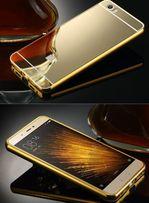 Чехол зеркальный. Xiaomi Redmi 5+ 5 5a Redmi 3s 3 2 Note 4x 3 2 Mi4c