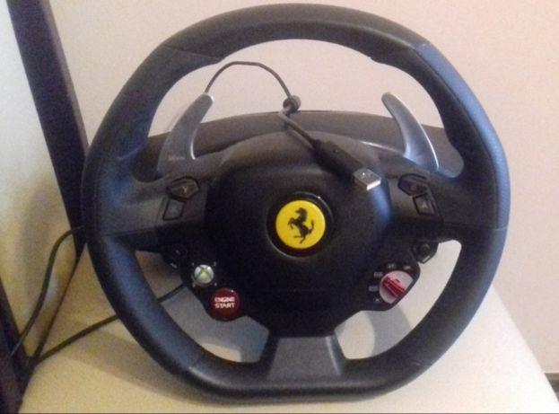 Kierownica Ferrari 458 Thrustmaster Xbox360/PC jak NOWA idealny Prezen Łęczyca - image 2