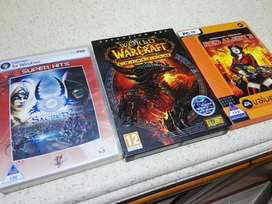 Computer games R80 per each or R50each if you take all of them.