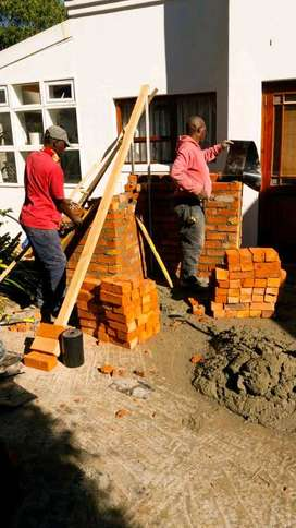 BRICKLAYER  AVAILABLE  FOR  BUILDING AND  MAINTENANCE  SERVICES